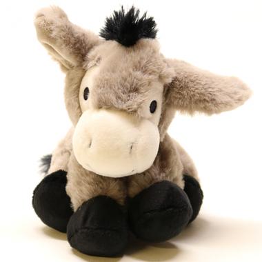 Kuscheltier Sitzender Esel 15cm