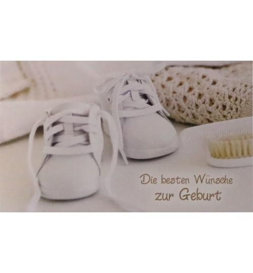 Die Besten Wünsche zur Geburt (14 cm 9 cm)