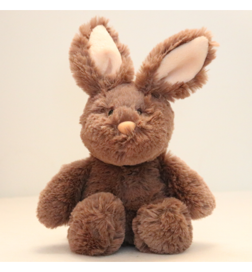 Kuscheltier Hase Dunkelbraun 20cm