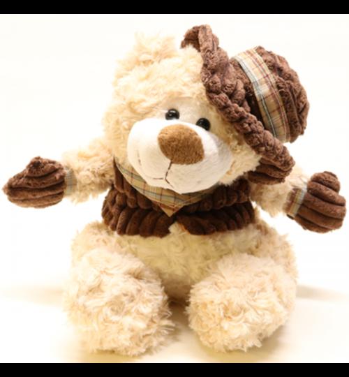 Kuscheltier Teddybär mit Hut - 24cm