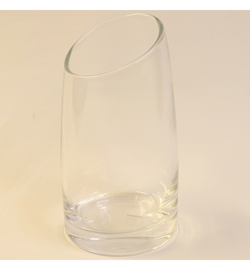 Glasvase - hoch 18cm - breit 9cm