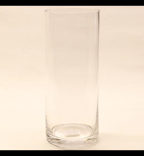 Glasvase - Hoch 25cm - Durchmesser 10cm
