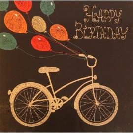 Happy Birthday (15 cm x 15 cm)