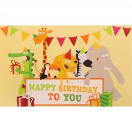Happy Birthday to You (14 cm x 9 cm)