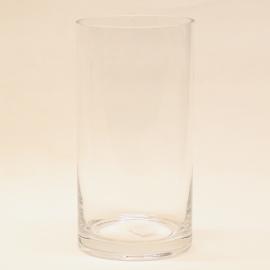 Glasvase - Hoch 20cm - Durchmesser 10cm