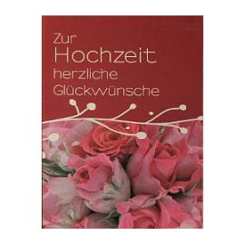 Zur Hochzeit (5.5 cm 7 cm)