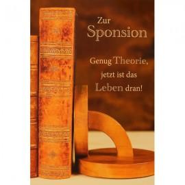 Zur Sponsion (12 cm x 17 cm)
