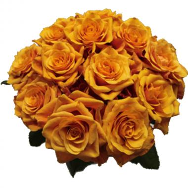 Buquê de Rosas Alaranjadas